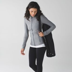 Lululemon Define Jacket Brushed Heathered Slate
